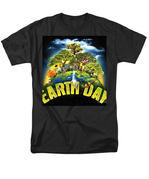 Mother Earth Men's T-Shirt  (Regular Fit) by Pg Reproductions