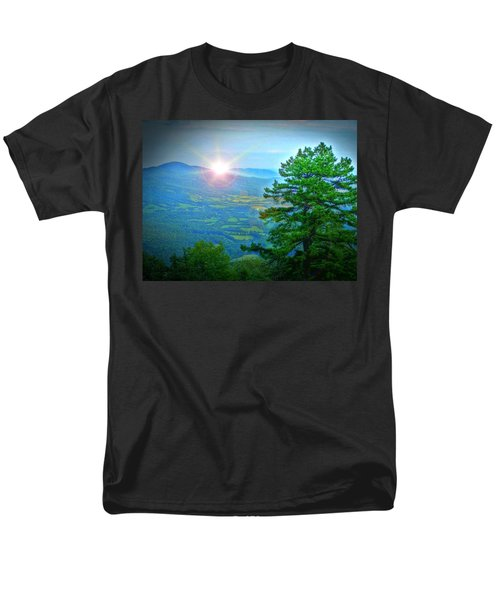 Mountain Sunrise Men's T-Shirt  (Regular Fit) by Dan Stone