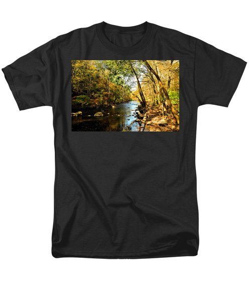 Musconetcong River Men's T-Shirt  (Regular Fit) by Brian Hughes