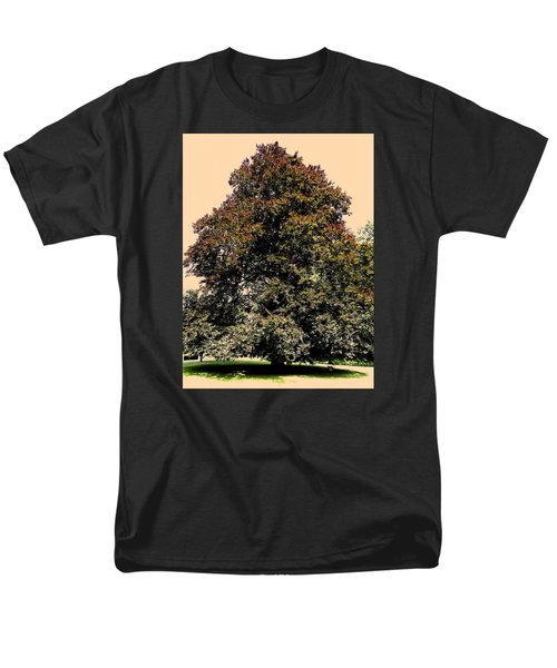 Men's T-Shirt  (Regular Fit) featuring the photograph My Friend The Tree by Juergen Weiss