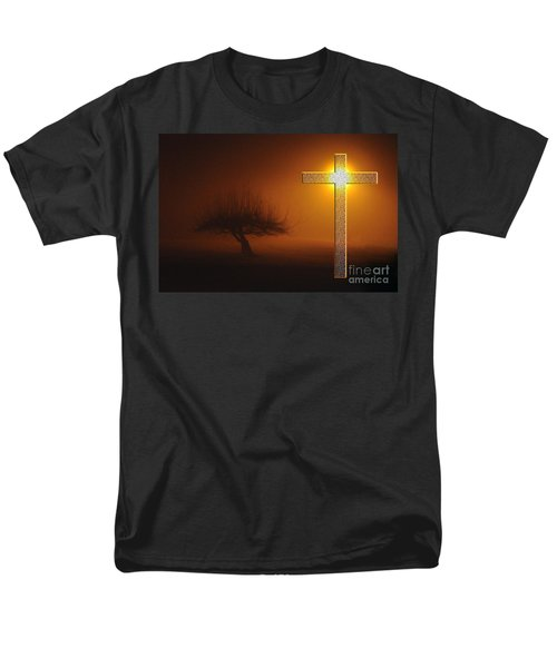 Men's T-Shirt  (Regular Fit) featuring the photograph My Life In God's Hands by Clayton Bruster