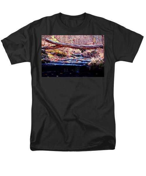 Men's T-Shirt  (Regular Fit) featuring the photograph Natural Spring Beauty  by Peggy Franz
