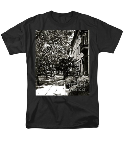 Men's T-Shirt  (Regular Fit) featuring the photograph New York Sidewalk by Eric Tressler