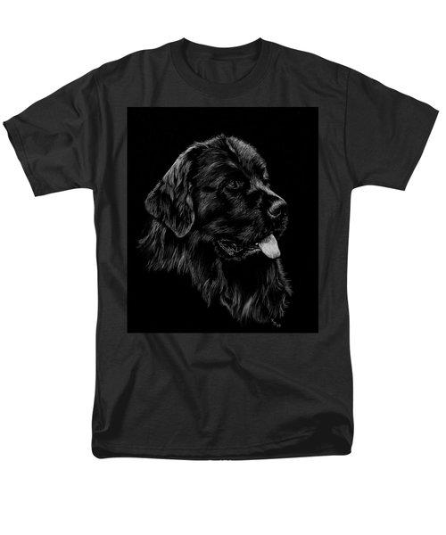 Men's T-Shirt  (Regular Fit) featuring the drawing Newfoundland by Rachel Hames