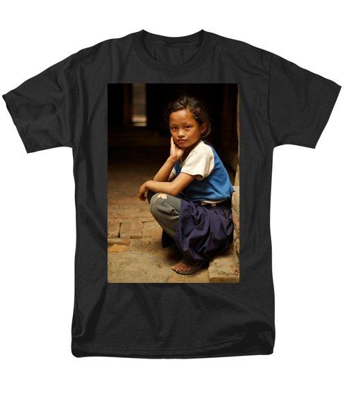 Nine Years Old Men's T-Shirt  (Regular Fit) by Valerie Rosen