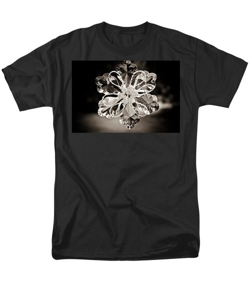 Men's T-Shirt  (Regular Fit) featuring the photograph Noir Reflections by Sara Frank