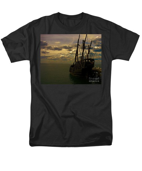 Notorious The Pirate Ship Men's T-Shirt  (Regular Fit) by Blair Stuart