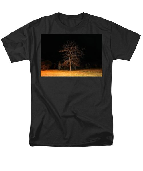 Men's T-Shirt  (Regular Fit) featuring the photograph November Night by Milena Ilieva