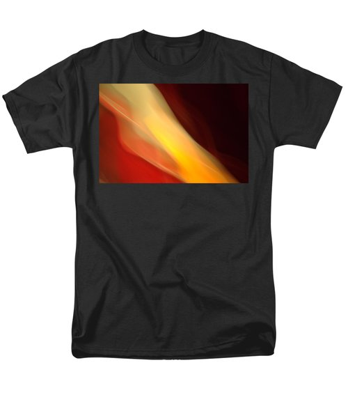 Men's T-Shirt  (Regular Fit) featuring the mixed media O'keefe Iv by Terence Morrissey