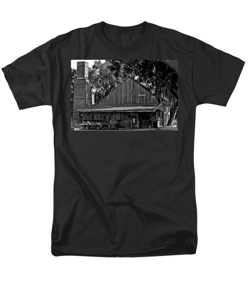Men's T-Shirt  (Regular Fit) featuring the photograph Old Spanish Sugar Mill by DigiArt Diaries by Vicky B Fuller