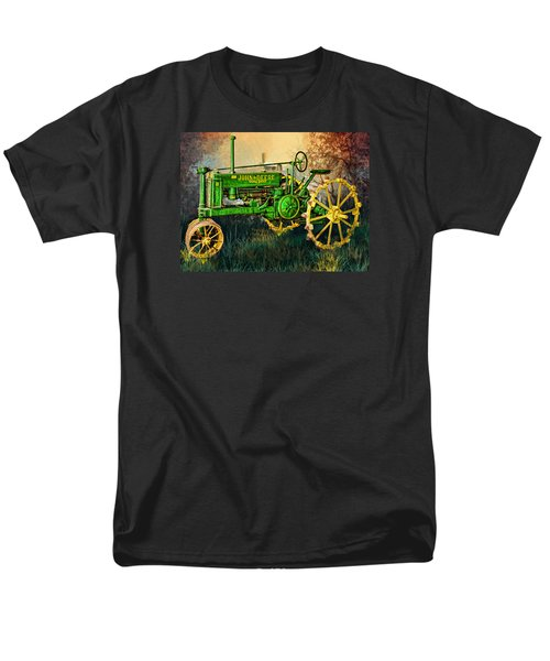 Men's T-Shirt  (Regular Fit) featuring the digital art Old Tractor by Mary Almond