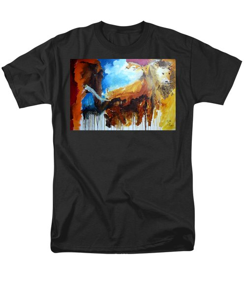 On Safari Men's T-Shirt  (Regular Fit) by Keith Thue