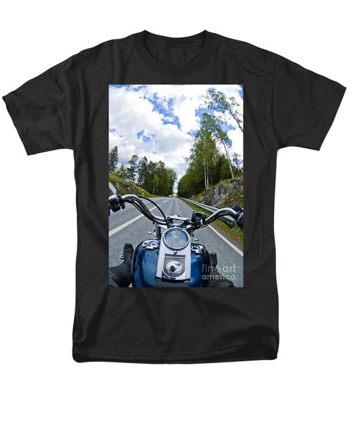 On The Bike Men's T-Shirt  (Regular Fit) by Micah May