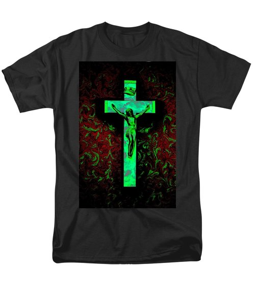Men's T-Shirt  (Regular Fit) featuring the photograph On The Cross by David Pantuso