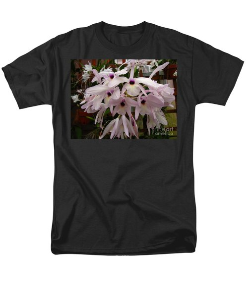 Men's T-Shirt  (Regular Fit) featuring the photograph Orchids Beauty by Donna Brown