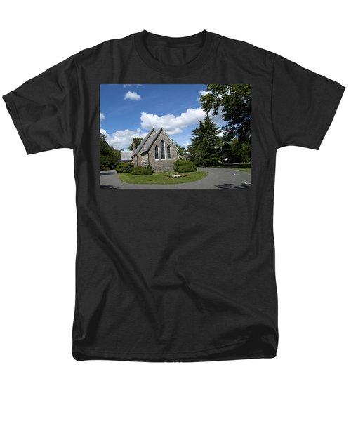 Men's T-Shirt  (Regular Fit) featuring the photograph Oxford Church by Charles Kraus
