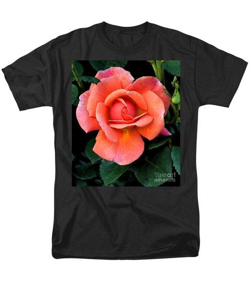 Painted Rose Men's T-Shirt  (Regular Fit) by Cindy Manero