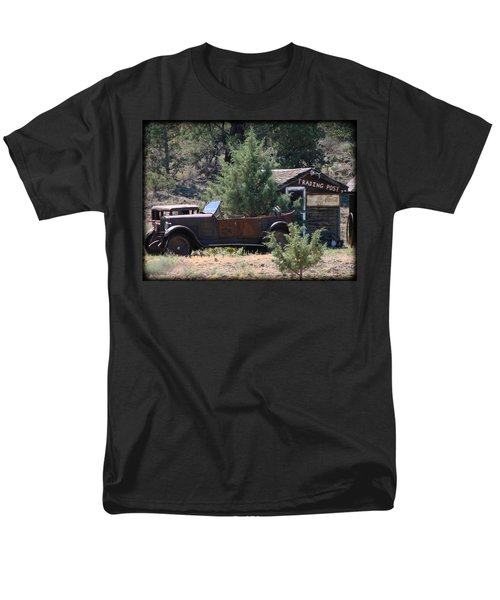 Men's T-Shirt  (Regular Fit) featuring the photograph Parked At The Trading Post by Athena Mckinzie