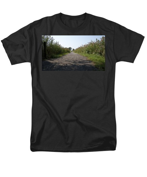 Path To The Bay Men's T-Shirt  (Regular Fit) by Charles Kraus