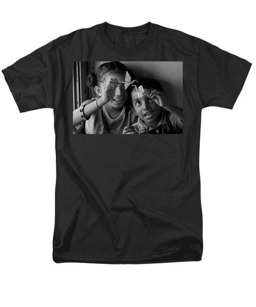 Peace And Love Men's T-Shirt  (Regular Fit) by Valerie Rosen