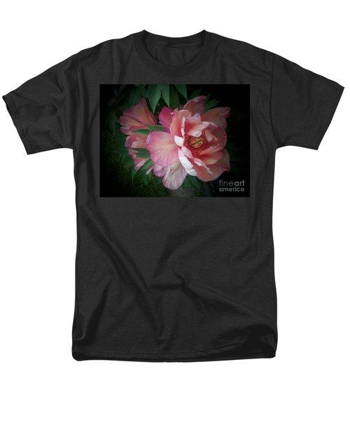 Peonies No. 8 Men's T-Shirt  (Regular Fit) by Marlene Book
