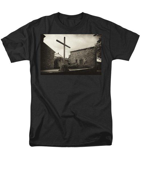 Men's T-Shirt  (Regular Fit) featuring the photograph Pieve Di Santa Maria Alla Sovarra by Hugh Smith