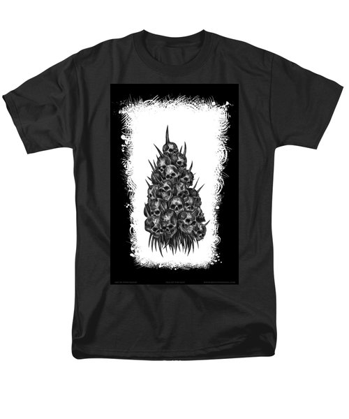 Pile Of Skulls Men's T-Shirt  (Regular Fit) by Tony Koehl