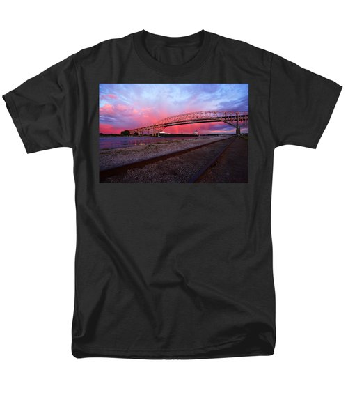 Men's T-Shirt  (Regular Fit) featuring the photograph Pink And Blue by Gordon Dean II