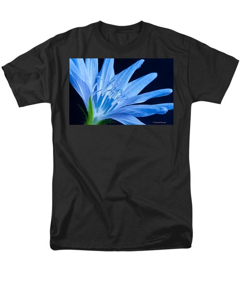 Men's T-Shirt  (Regular Fit) featuring the photograph Pistil's Of Chicory by Randall Branham