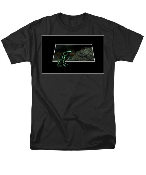 Poisonous Green Frog 02 Men's T-Shirt  (Regular Fit) by Thomas Woolworth