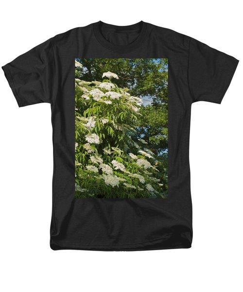 Men's T-Shirt  (Regular Fit) featuring the photograph Potchen's Cascade by Joseph Yarbrough