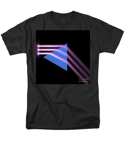 Men's T-Shirt  (Regular Fit) featuring the digital art Prism 1 by Russell Kightley