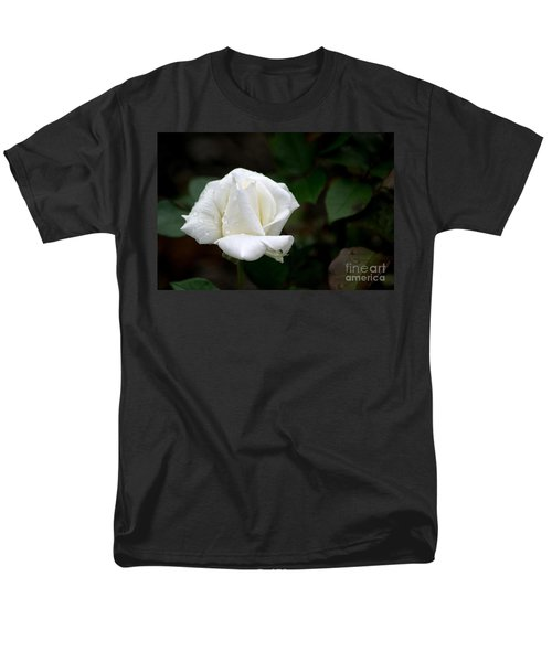 Men's T-Shirt  (Regular Fit) featuring the photograph Pure As Snow by Living Color Photography Lorraine Lynch