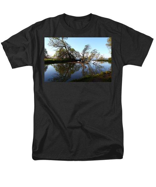 Men's T-Shirt  (Regular Fit) featuring the photograph Quiet Reflection by Davandra Cribbie