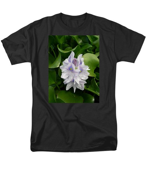 Men's T-Shirt  (Regular Fit) featuring the digital art Rare Hawain Water Lilly by Claude McCoy
