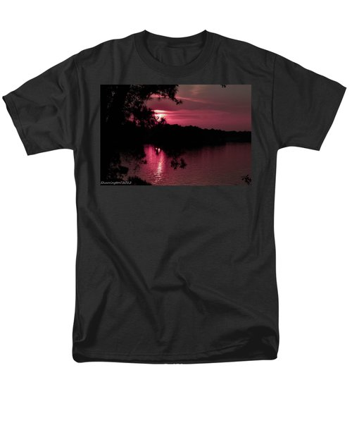 Red Sky At Night Men's T-Shirt  (Regular Fit) by Shannon Harrington