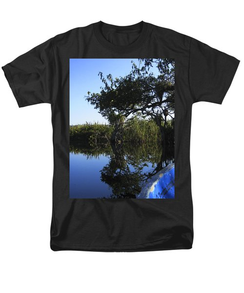 Reflection Of Arched Branches Men's T-Shirt  (Regular Fit) by Anne Mott