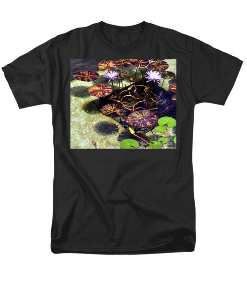 Men's T-Shirt  (Regular Fit) featuring the photograph Reflections On Underwater Life by Clayton Bruster