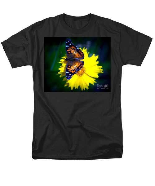 Resting Butterfly Men's T-Shirt  (Regular Fit) by Kevin Fortier