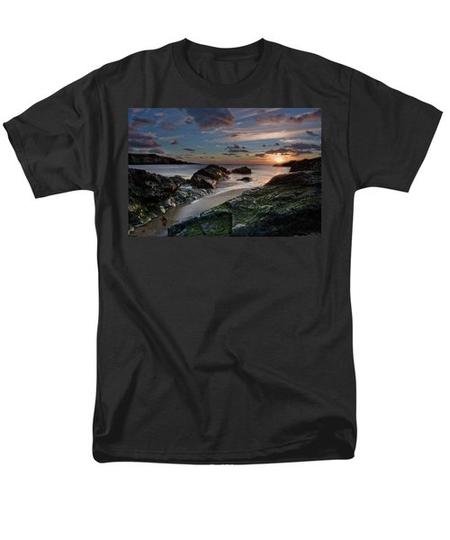 Men's T-Shirt  (Regular Fit) featuring the photograph Rhosneigr Sunset  by Beverly Cash
