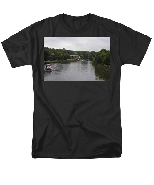 Men's T-Shirt  (Regular Fit) featuring the photograph Richmond Cruise by Maj Seda