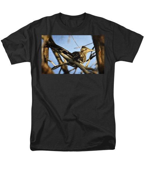 Roadrunner Up A Tree Men's T-Shirt  (Regular Fit) by Saija  Lehtonen