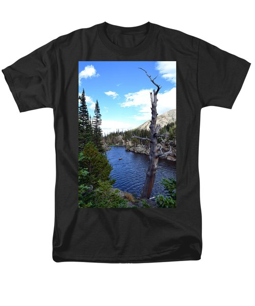 Rocky Mountain National Park1 Men's T-Shirt  (Regular Fit) by Zawhaus Photography