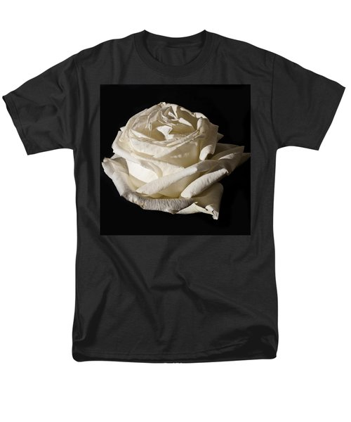 Men's T-Shirt  (Regular Fit) featuring the photograph Rose Silver Anniversary by Steve Purnell
