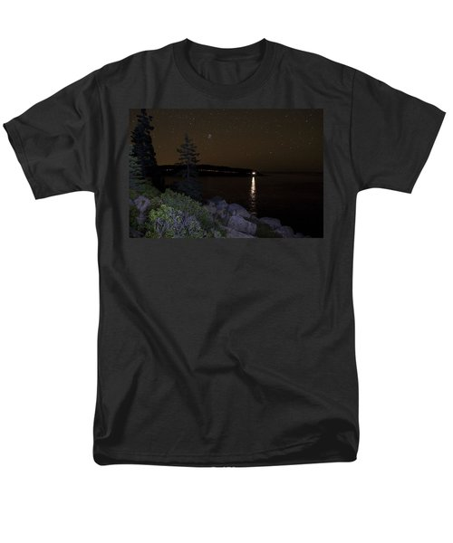 Men's T-Shirt  (Regular Fit) featuring the photograph Rounding Otter Point by Brent L Ander
