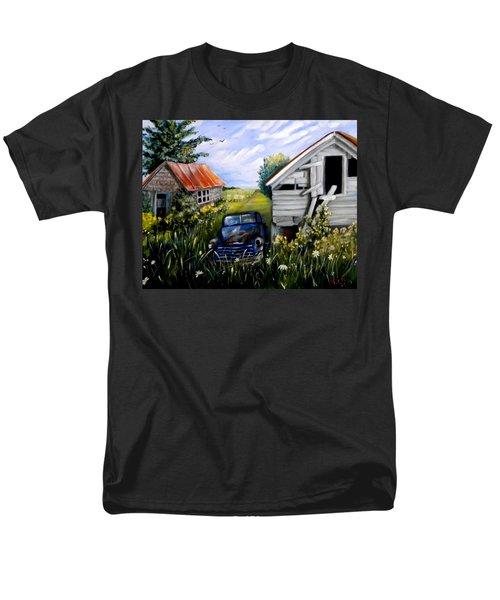 Rustic Partners Men's T-Shirt  (Regular Fit) by Renate Nadi Wesley