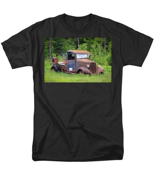 Men's T-Shirt  (Regular Fit) featuring the photograph Rusty Chevy by Steve McKinzie