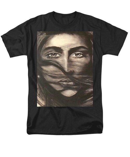 Men's T-Shirt  (Regular Fit) featuring the drawing Ryan's School Folder by Carrie Maurer