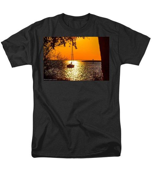 Men's T-Shirt  (Regular Fit) featuring the photograph Sail Away by Shannon Harrington