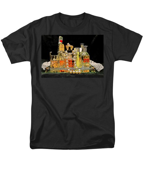 Men's T-Shirt  (Regular Fit) featuring the photograph Scents Of A Woman by DigiArt Diaries by Vicky B Fuller